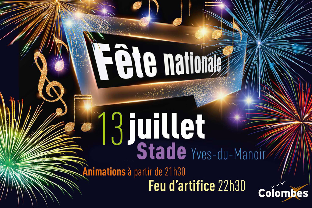 Fête nationale Colombes